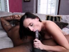 Longest black dick for seductive fat booty brunette