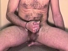 Amateur Mature Man Mike Jacks Off and Cums