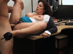 Milf with big tits stuffed by pawn guy at the pawnshop