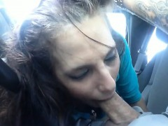 Blowjob For A Free Uber Ride