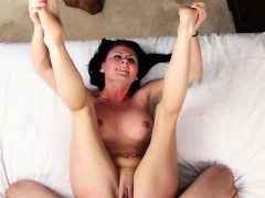Brunette and petite Stella Stone gets fucked by J Mack