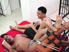 Gay Asian Twink Jack Gets Tickled