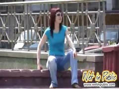 Pant-wetting redhead