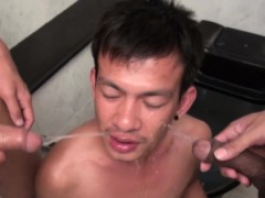 Asian twink piss and jizz