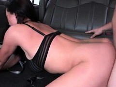 BJ and doggy style for sex bus amateur babe