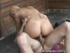 Big Cock Plowed Latina Cristal