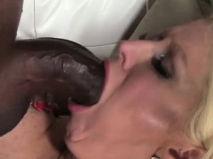 Face Full of Black Cock with Alura Jenson
