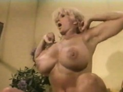 Muscled_chesty_granny_lifts_weights_all_naked_vintage_