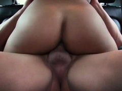 Horny and beautiful Victoria Sweet gets picked up and fucked