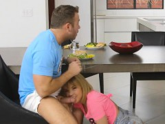 Sneaky sex with Dillion Harper and Chad White