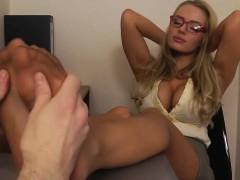 Her legs tease