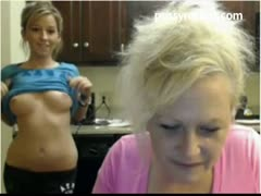 Mom and Daughter On Cam