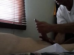 Relaxing Oil Prostate Massage With Horny Gays