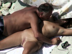 Mature Beach Sex