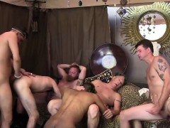 Horny Group Of Twinks Relives An Old Roman Orgy Fuck Fest