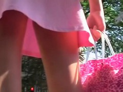 Voyeur video with upskirt images