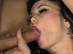 Asian Ladyboy Fucks Pussy