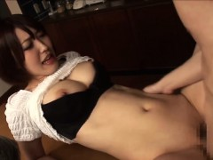Horny Guy Fucks Her Japanese Stepmom While Dad Beside Them