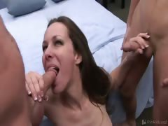 This MILF must have been fucked until her brains fell out!