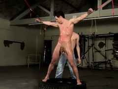 Sexy gay Our fresh slave fellow doesn't know what to expect,