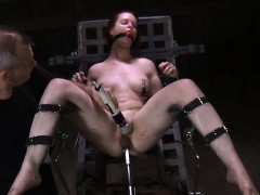 Titty torture for wicked gorgeous babe