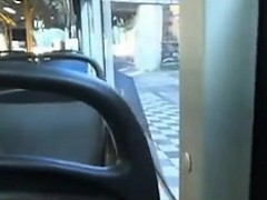 She Gives A Blowjob In Public On The Bus