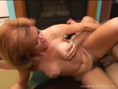 Milf Mikela Gets Her Hairy Poon Licked And Fucked