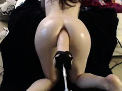 Fucked In The Butt By A Machine
