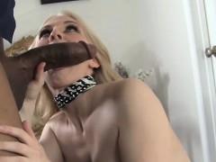 Christie Stevens Handles Massive Black Cock