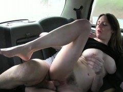Riding a cab and then riding a big dick hardcore after