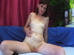 Horny mature woman is fucked by a young man