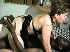 Milf gets interracial fuck that is hard