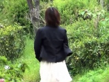 Oriental slut caught pee