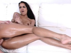Anal slut supreme Abby Lee Brazil getting railed so deep