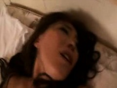Sultry Japanese mom in stockings goes wild for a stiff rod