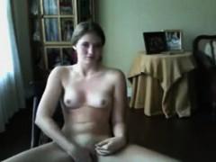 Big cock solo jerking on webcam