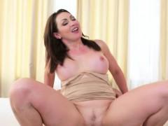 Big tits Milf riding big dick on sofa
