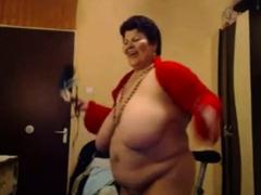 Bbw Granny Dance