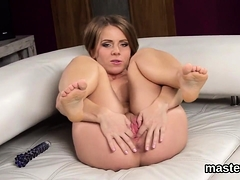 Hot Czech Sweetie Stretches Her Wet Twat To The Peculiar