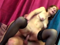 Wet pussy filled with hard dick