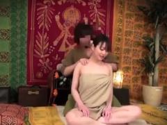 Subtitled Japanese hotel milf massage erection exposure