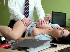 Loan4k. Agent Offers Alex Black Sex To Get Her Loan And...