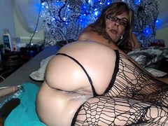 Hot Mature In Stockings Solo Loving