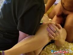 Huband First Filmed Threesome Of Wife