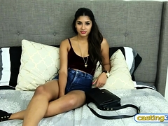 Cute amateur petite teen doesnt doing it with strangers