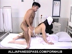 Eri Ueno nurse has nooky nailed by doctor - More at