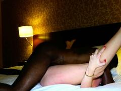 MILF Ebony in Hardcore interracial