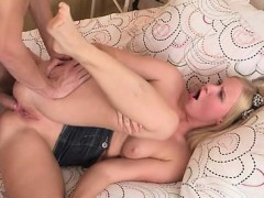Erotic anal pounding for cute babe