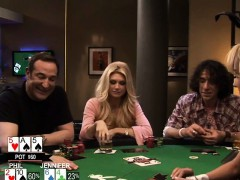 Busty babes enjoyed playing poker with their horny men